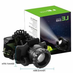 le zoomable 3 modes headlamp cree led