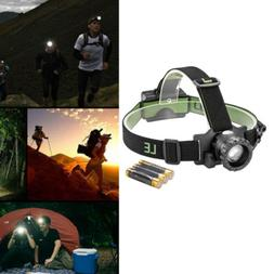 LED HeadLamp Flashlight Headlight Battery Powered Helmet lig