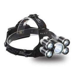 Newest Headlamp 12000 Lumen Ultra Bright Cree Led Work Headl