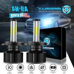 PAIR H4 HB2 9003 300000LM 2000W LED Headlight Kit Hi/Lo Beam