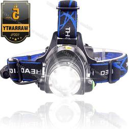 Rechargeable Tactical 350000LM T6 LED Headlamp 1865*0 Headli