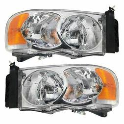 Headlights Depot Replacement for Dodge Ram 1500/2500/3500 Ch