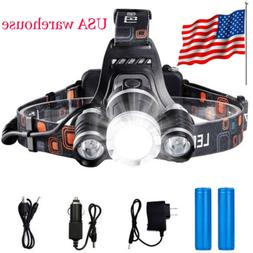 usa stock led headlight headlamp flashlight head