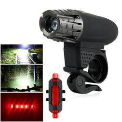USB Rechargeable Waterproof LED Bright Bike Front Headlight